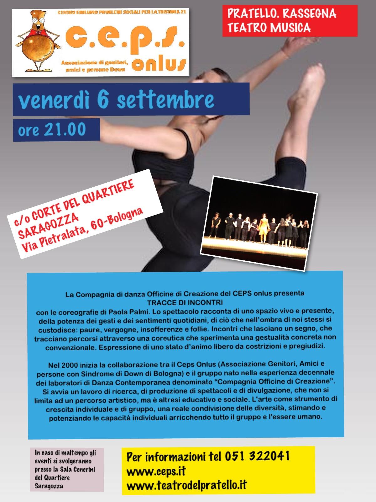 Danza Pietralata Settembre