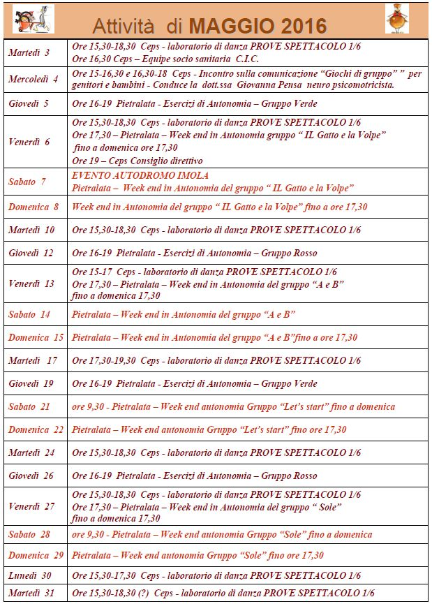 Agenda MAG 16